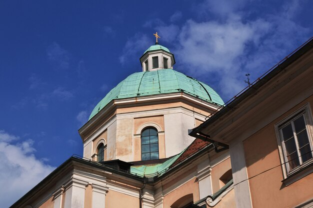 聖ニコラス大聖堂、シュトルニツァsv。スロベニア、リュブリャナのニコラジャ