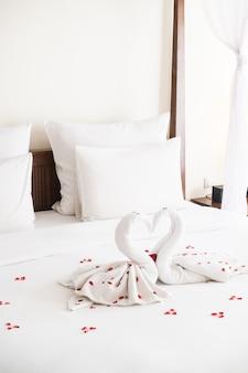 Swan towel