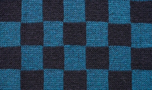 Sweater square with 5 colors