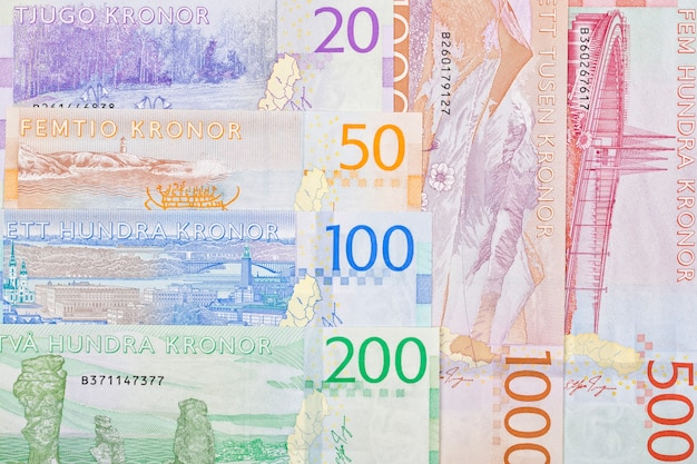 Swedish money a business surface