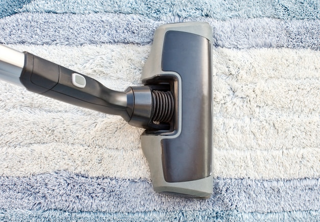 Sweeper with curtain
