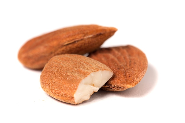 Sweet almond drupes
