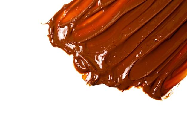 Sweet caramel pattern, top view.