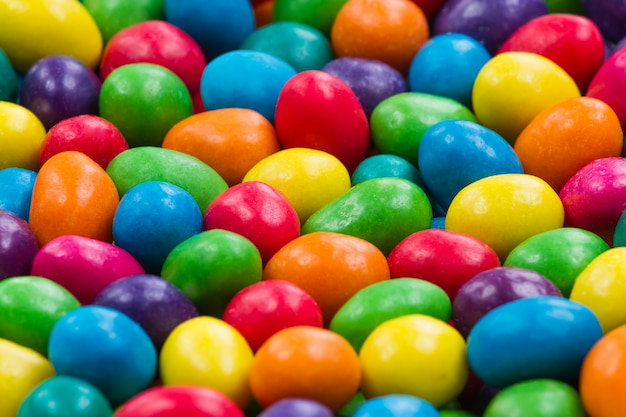 Sweet color candy. close-up of colorful candy. background of candy