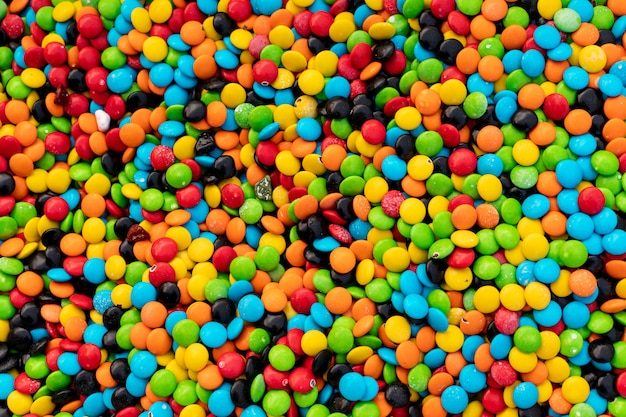 Sweet color candy colorful surface
