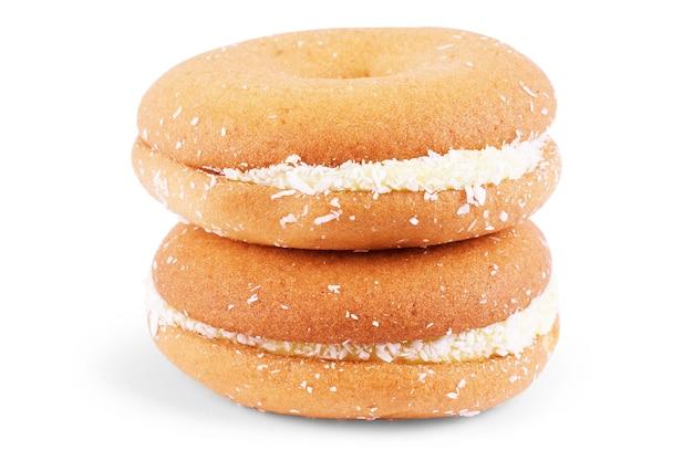 코코넛 절연 달콤한 쿠키