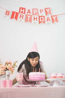 Сладкий уголок дня рождения