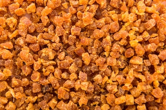 Sweet dehydrated apricot slices