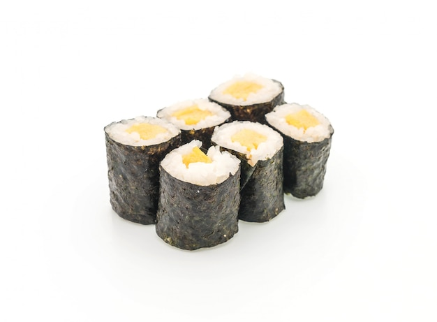 Sweet egg maki (tamago) - japanese food style