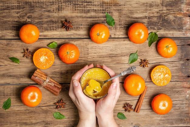 Сладкое мармелад из свежих апельсинов и мандаринов