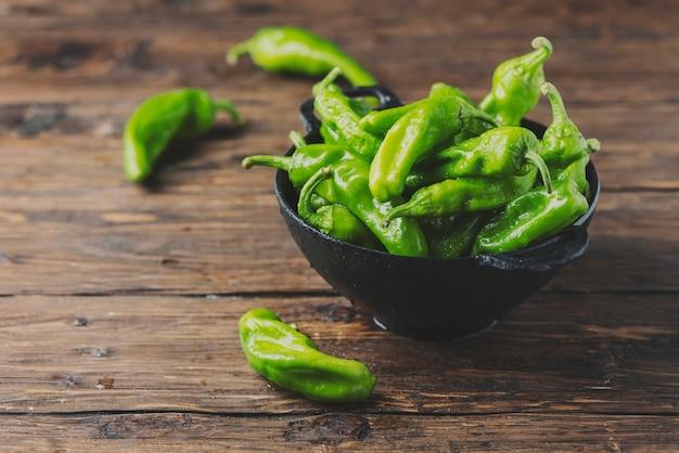 Sweet italian green pepper