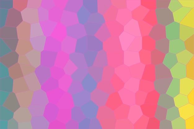 甘いパステルモザイク抽象的なテクスチャ背景、グラデーション壁紙のパターン背景