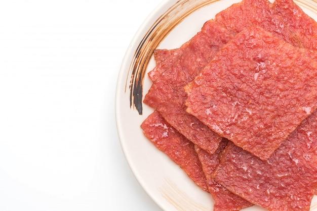Sweet pork sheet