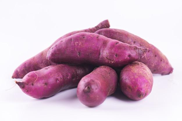 Sweet potato has a very delicious flavor.