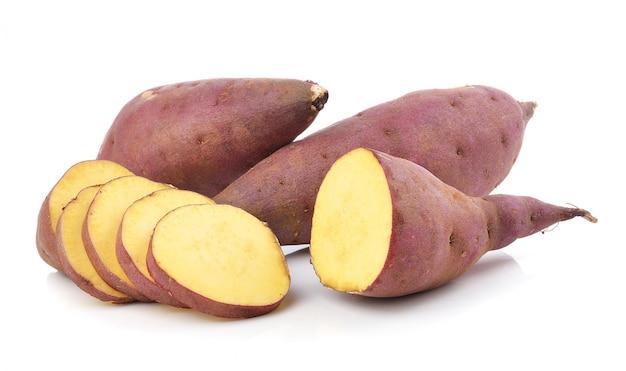 Sweet potato isolated