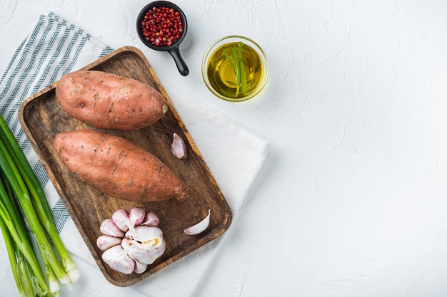 ハーブと調味料のサツマイモ