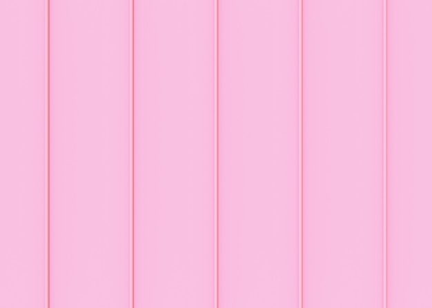 Sweet soft pink color tone vertical panels pattern wall background.