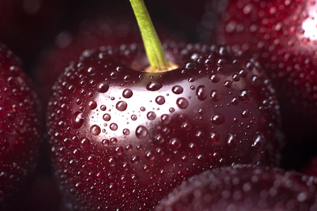 Sweet and tasty cherry