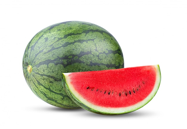 Sweet watermelon isolated