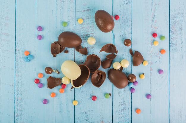 Конфеты и шоколадные яйца