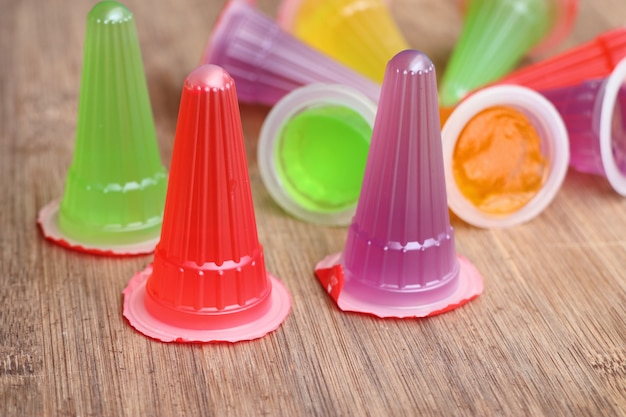 Sweets jelly with colorful