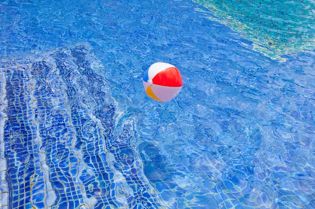 Swimming pool background for abstract and summer