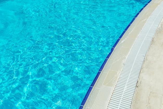 Swimming pool in luxury condominium
