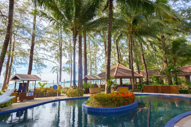Swimming pool - luxury hotel