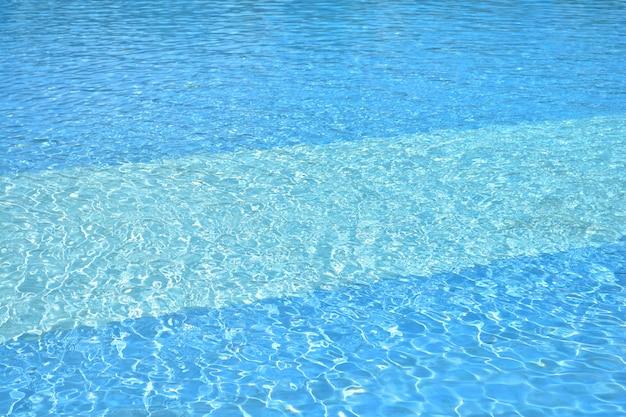 Предпосылка текстуры поверхности воды пульсации бассейна