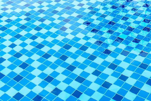 スイミングプールの表面