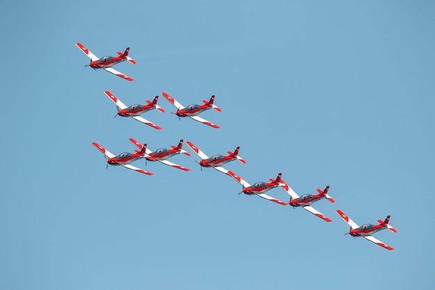 Swiss air force team
