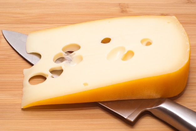 Swiss cheese emmenthal