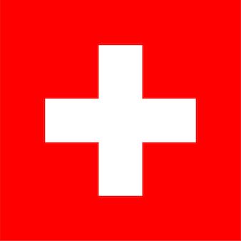 スイスのスイス国旗
