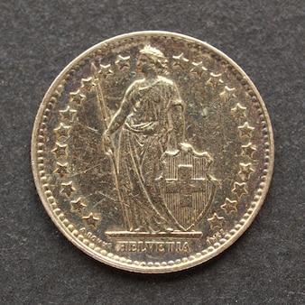 Монета швейцарских франков