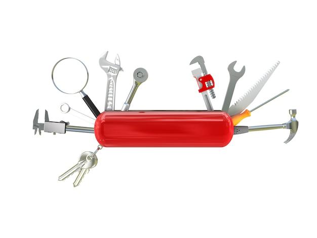 Swiss knife tool