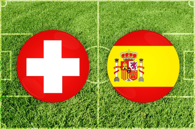 스위스 vs 스페인 축구 경기
