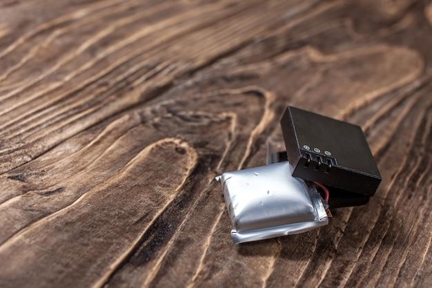 Swollen lithium ion polymer batteries - toxic dangerous waste
