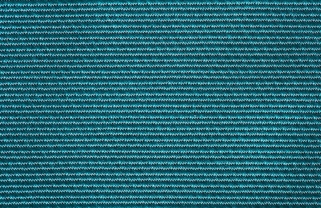 Synthetic green fabric, background structure, close-up macro view