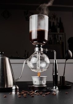 Syphon alternative method of making coffee