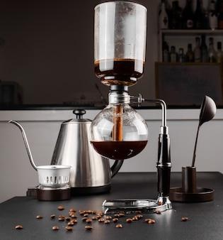 Syphon alternative method of making coffee