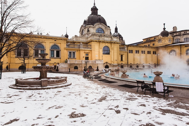 The széchenyi thermal bath