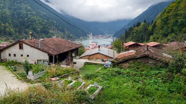 T uzungol (long lake) area most beautiful tourist places in turkey.