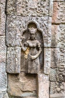 캄보디아 씨엠립 앙코르와트의 따솜 사원