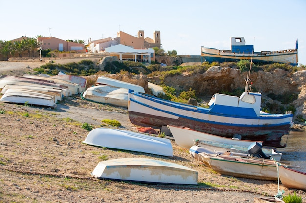 Tabarca island in alicante valencian community