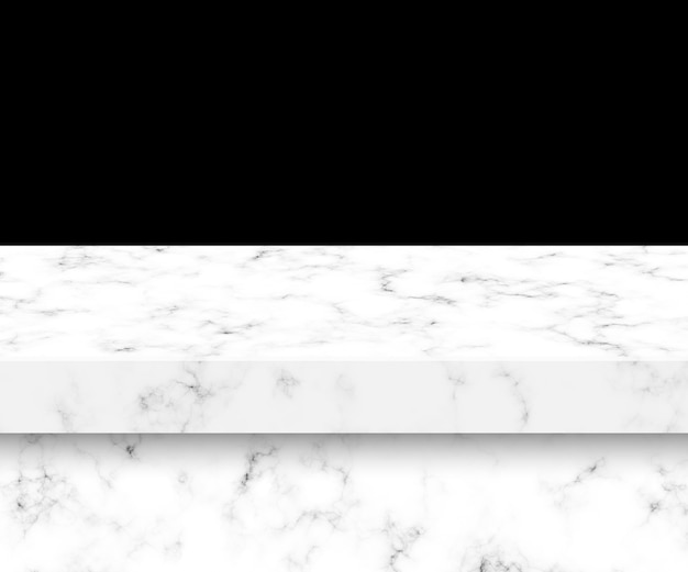 Table marble isolated