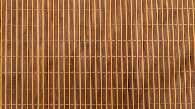 Table mat texture made of bamboo