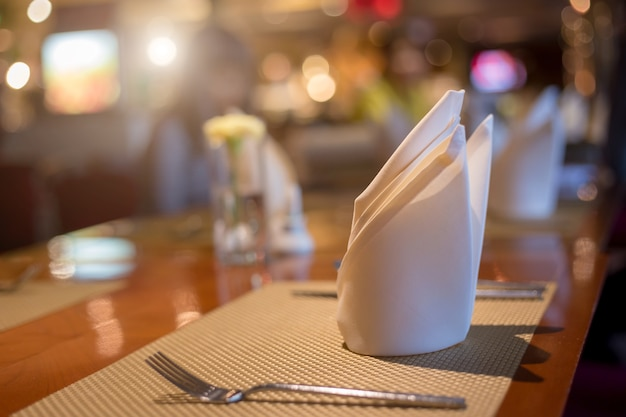 Table napkin, napery, serviette