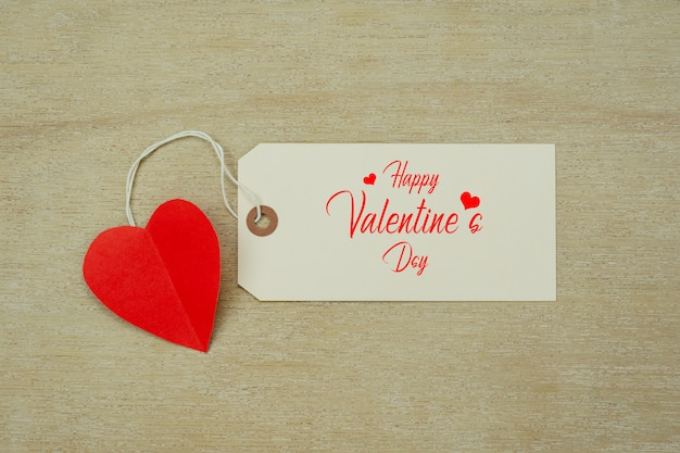 Table top view aerial of decoration valentine's day holiday background concept.