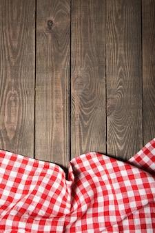 텍스트에 대 한 장소 테이블에 식탁보 섬유