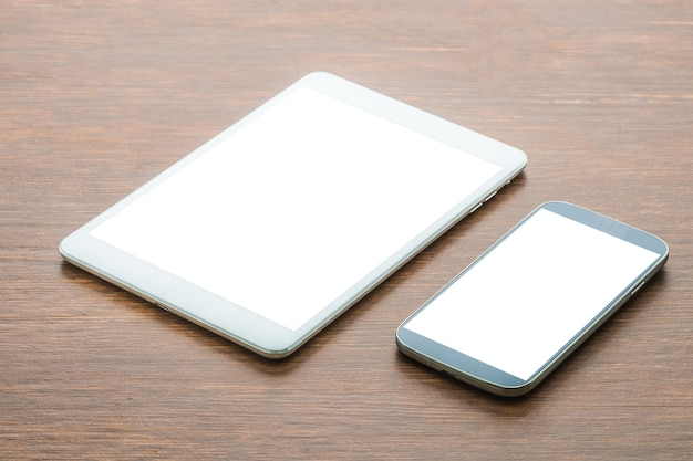 Tablet with smart phone